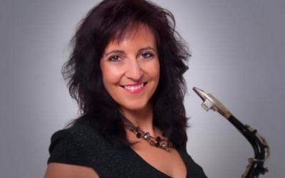 Saxophonist Paula Borrell 30 November 2019