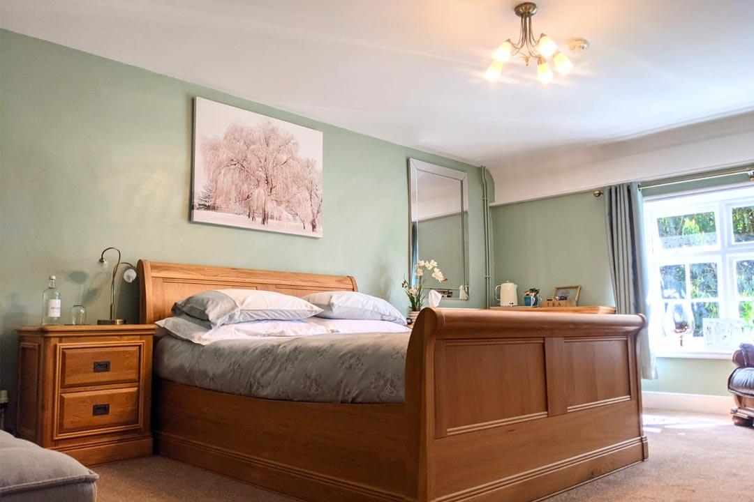 Kitty Canham Bedroom